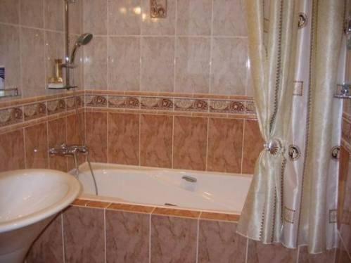 Отделка дизайн ванной комнаты фото